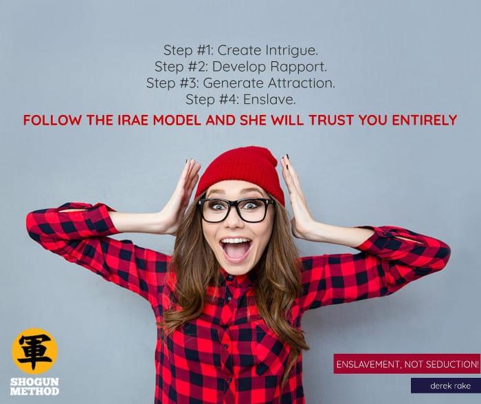 How to rebuild trust using the IRAE Model